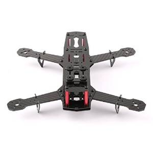 Quadcopter flight time: YKS DIY Full Carbon Fiber Mini C250 Quadcopter Frame Kit