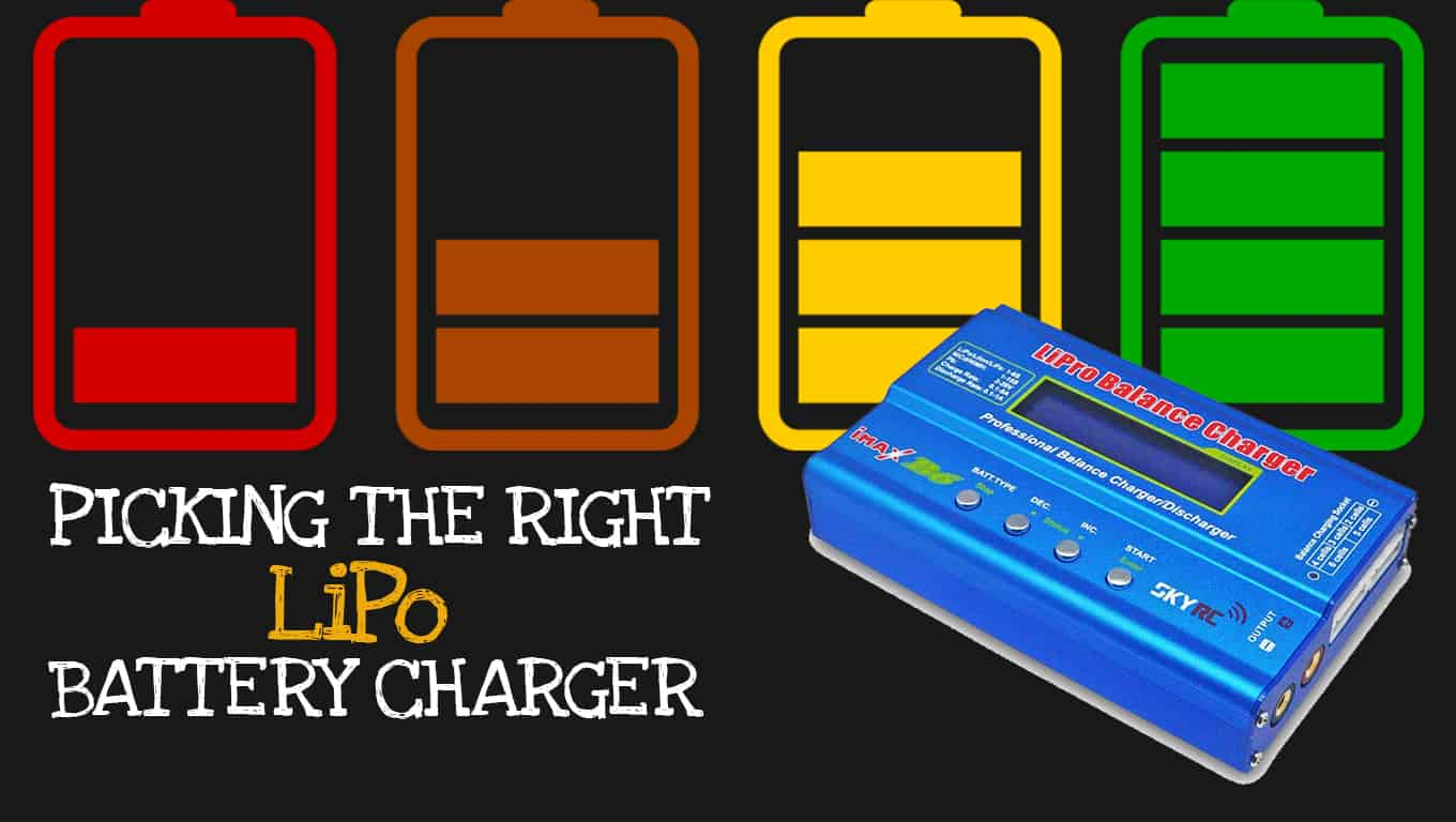Best Lipo Battery Charger 2018 Recommendations Reviews Simple Lithium Ion Droney Bee