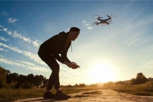 What happens if you get caught without a drone license